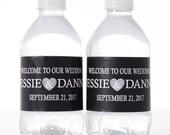 ADDITION TO EXISTING Order 60 Custom Water Bottle Labels - Your Business Logo or Design - Custom Logo Water Bottle Labels -
