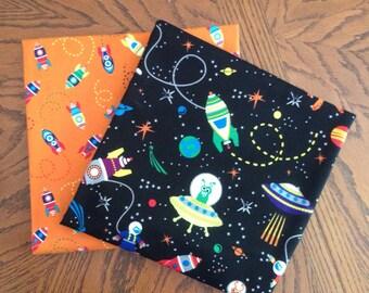 Spaceship Receiving Blanket Set