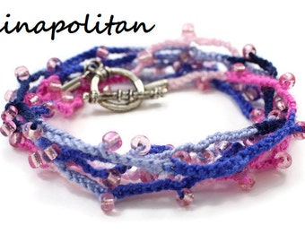 Berrylicious Wrap Bracelet / Necklace / Anklet - Ready to Ship