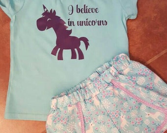 I Believe in Unicorns outfit