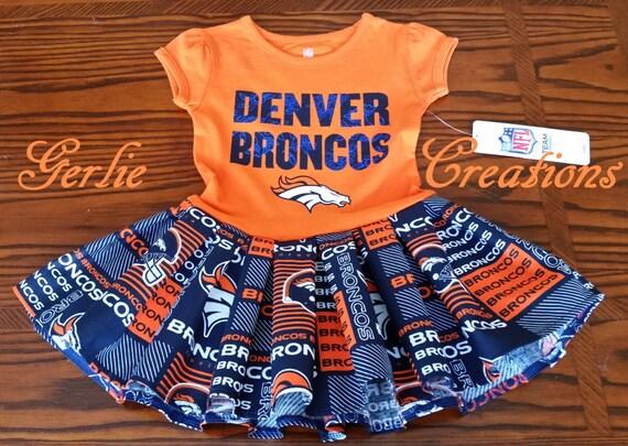 Girls Broncos Dress Girls Dress Denver Broncos Toddler