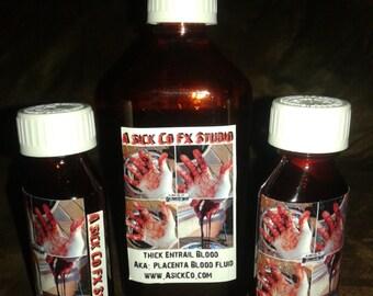 Thick Entrail / Placenta Blood, Special FX Blood 2oz. A-Sick-Co.Fx