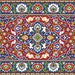 Oriental Vintage Floral Rug 1 Adaptation Large Rug Large Tapestry Counted Cross Stitch Patterns PDF