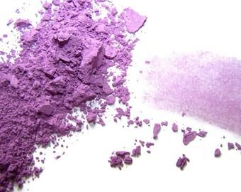 Mineral Makeup - Orchid Matte Finish Eyeshadow - Orchid Eyeliner - Purple -  Vegan Shadow - Vegan Makeup