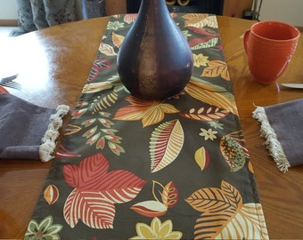 Fall Colors Table Runner    Modern Table Runner