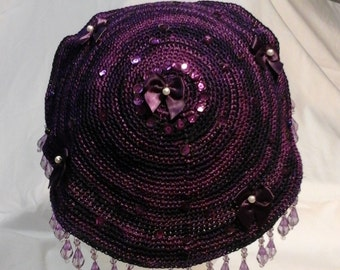 Purple Kippah