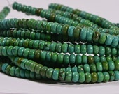 Turquoise Full Strand Beads 4.1x2.4 mm Natural Gemstone Beads Jewelry Making Supplies