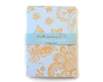 Lace Travelers Notebook - Journal - Notebook - Exercise Book  - 60 Pages