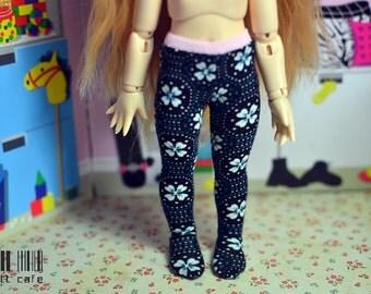 SALE*****YOSD doll leggings 1/6 bjd ***flowers***