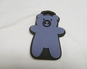 Teddy Bear Paint Stamp