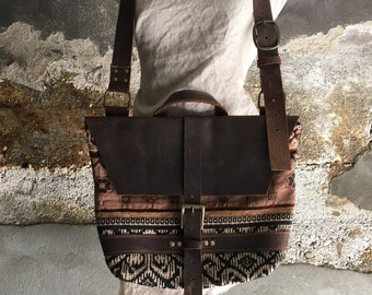 carpet bag satchel bag messenger bag  crossbody purse