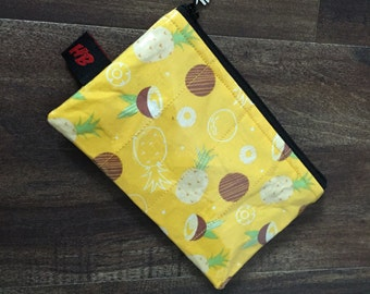 Handmade Pineapple  & Coconut Change Purse
