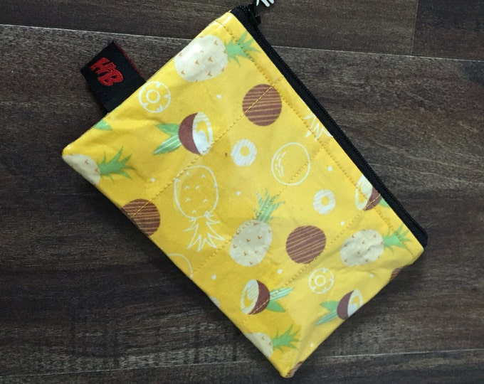 Handmade Pineapple  & Coconut Change Purse