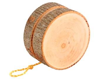 Rustic Wooden Yo-Yo