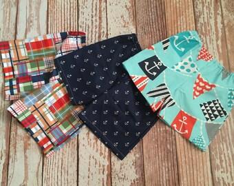 Boys Shorts - Shorts - Boy, Toddler Boy, Baby Boy - Elastic Waist - Pull on-  Nautical Fabrics - YOU CHOOSE