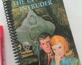 NANCY DREW book journal notebook Recycled Upcycled Spiral Bound Carolyn Keene