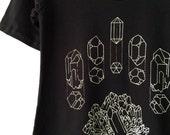 CRYSTAL DIAGRAM dress, black