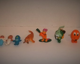 Lot of Vintage Miniature Toys Rubber and Plastic
