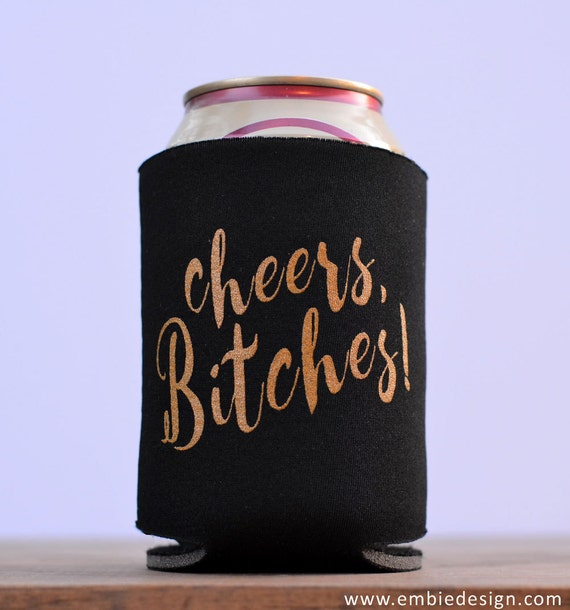 Funny Can Coolers ~ Funny beer can cooler cheers lover home brew by