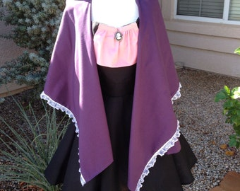 Haunted Mansion Widow apron dress