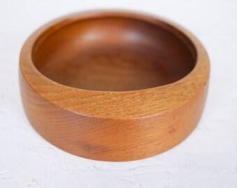 Mid Century Modern Teak Bowl