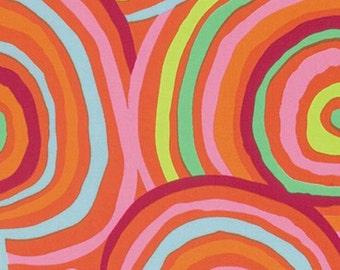 "Kaffe Fassett - 108"" Wideback - Circles - Red"