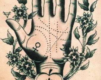 Palm Reader Art