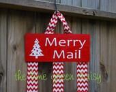 CHRISTMAS CLEARANCE - Merry Mail - Christmas Card Display