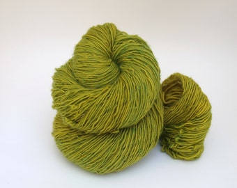 Hand Dyed Fingering, Sock Yarn Singles, 100% Superwash Merino, Simply Sheep Singles, Bamboo Shoots