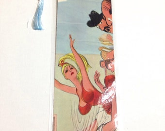 Upcycled Playboy Bookmark - October 1965