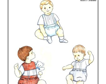 The Waisted Bubble Pattern for Boys by Michie #107