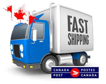 Fast shipping to Canada - Upgrade Shipping Canada - via Canada Post