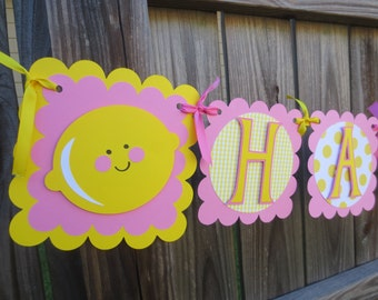 Lemons and Lemonade Birthday Banner