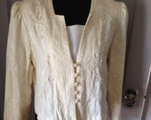 80s Does Victorian Blouse Free Ship!