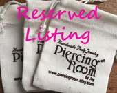 Reserved listing for Volpe Bianca