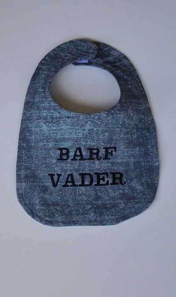 Star Wars Barf Vader Baby Bib