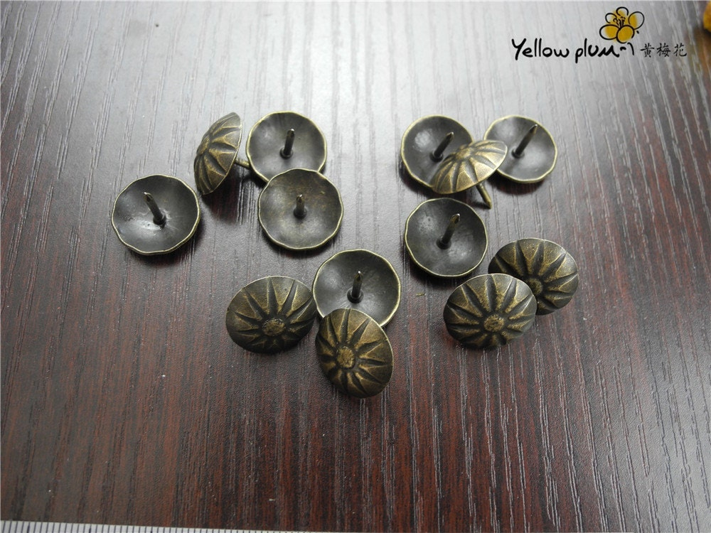 50pcs 17 15mm Woodworking Upholstery Decorative Nails