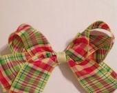 Large Hair Bows/Plaid Hair Bows/Girls Hair Bows/Hair Accessories