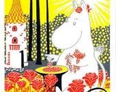 Moomin postcard size A6