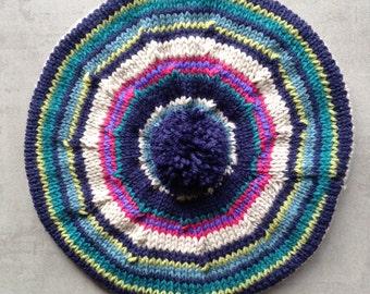Children's Hat, Wool, Tam, Beret, UK Seller, 40's Style Beret, Etsy UK,