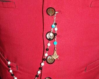 Masonic Pocket Watch Chain