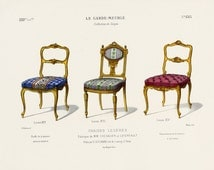 Popular Items For Louis Xvi Chair On Etsy
