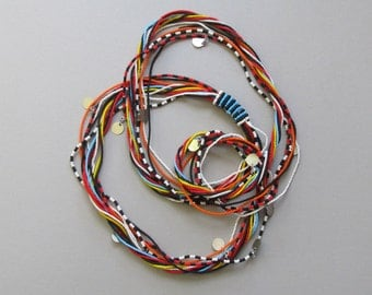 Maasai Beaded Warrior Necklace KBN03