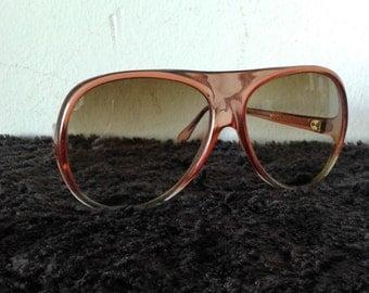 Vintage retro sunglasses,70s sunglasses, brown sunglasses,hippie sunglasses