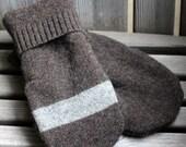 Men's Large Wool Mittens, Sweater Mittens, Upcycled Wool Sweater Mittens, Wool, Fleece Lined, Inspiring Dreams