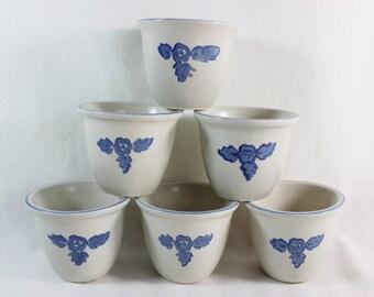 Pfaltzgraff Yorktown Custard Cups Dessert Cups, Set of Six