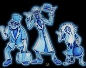 Hitchhiking Ghosts print