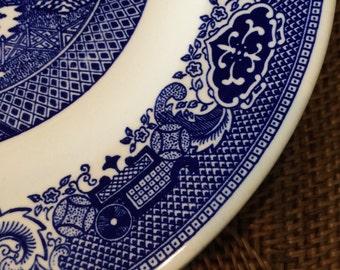 Willow Ware Rimmed Bowl by Royal China Sebring USA