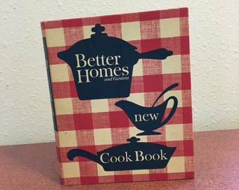 Vintage Book, Better Homes and Gardens new Cook Book