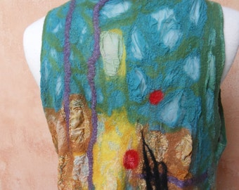 Dream Sequence Mosaic Nuno felt women's vest